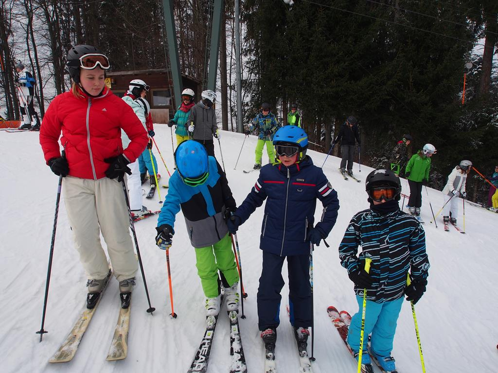 Schneesporttag der Mittelschule Siegsdorf 2017