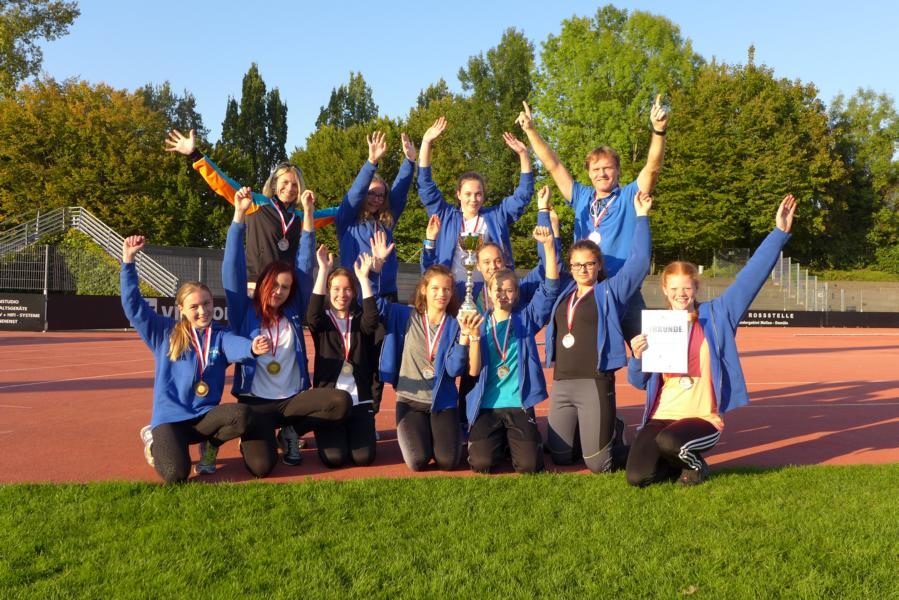 Mittelschule Chiemgau Süd wird im Leichtathletik –Mehrkampf  beim internationalen Bodenseeschulcup sensationell Dritter!