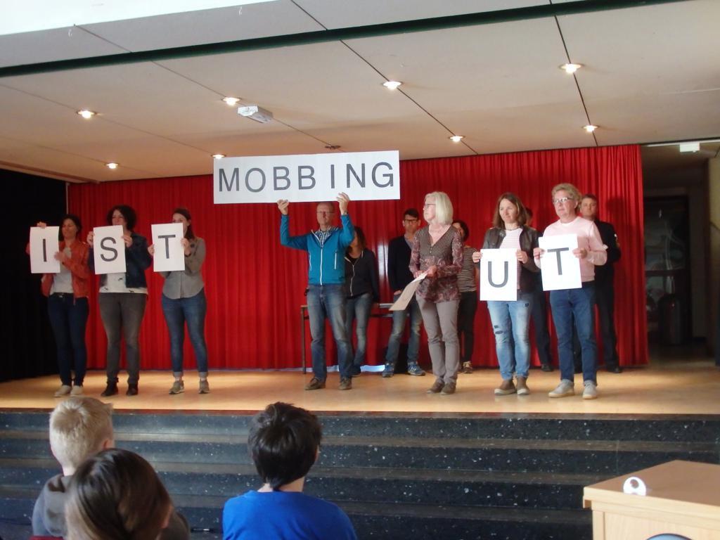 Zum Thema Mobbing