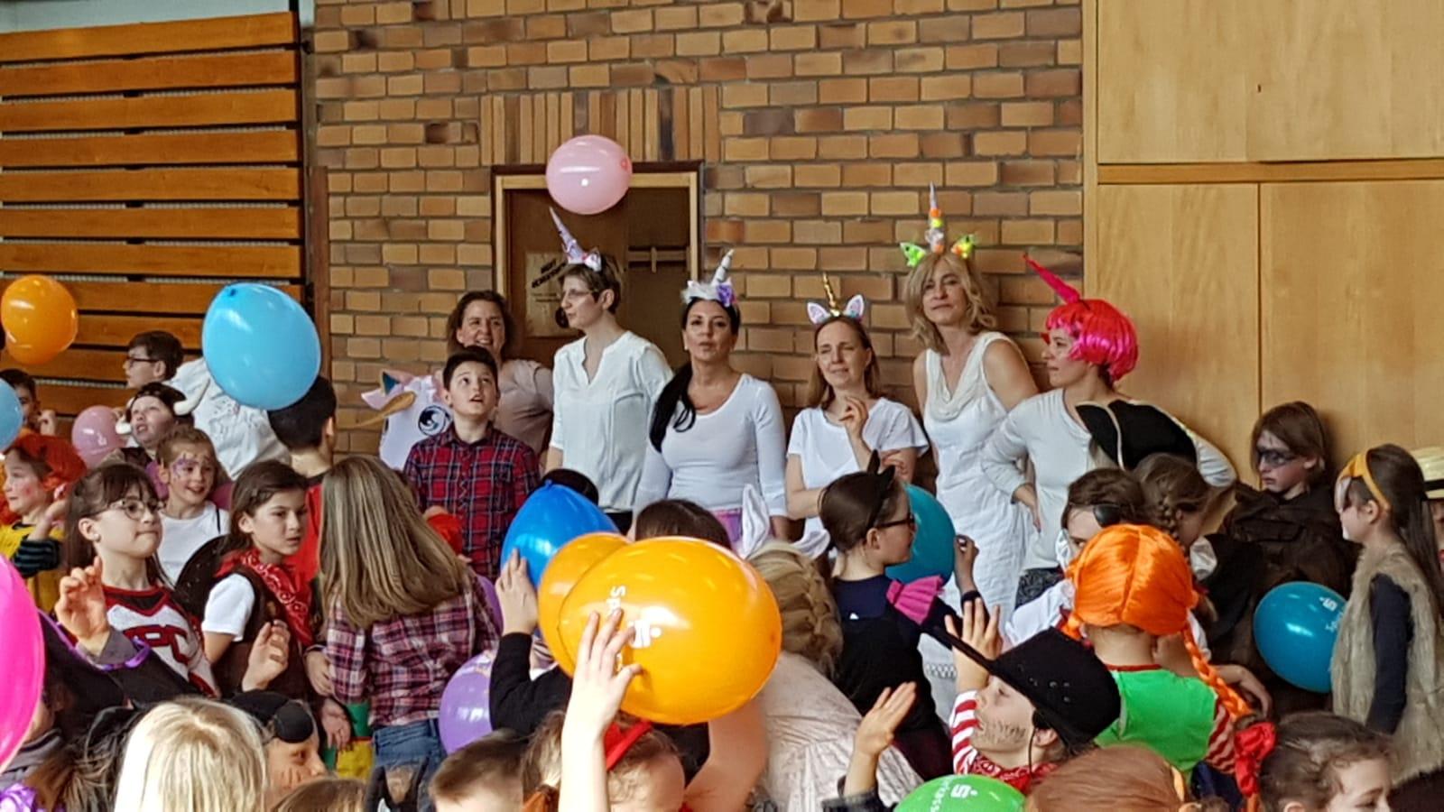 Faschingsfeier der Grundschule