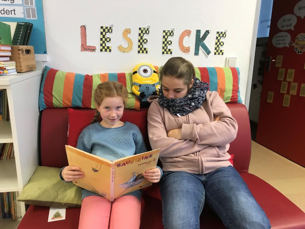 Groß und Klein lesen