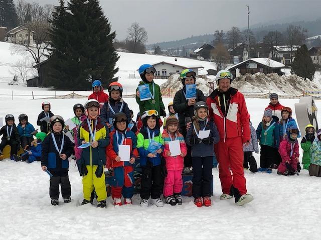 Skikurs der GS Siegsdorf