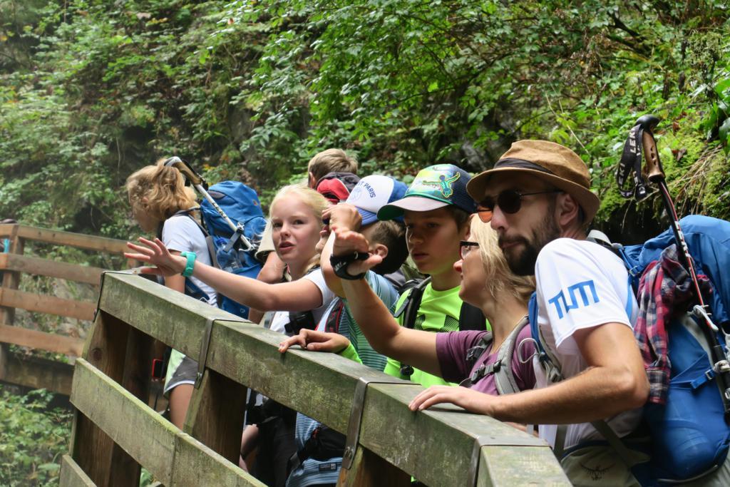 Nationalpark Berchtesgaden wird zum Freiluftklassenzimmer